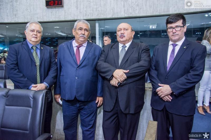 Sergio Pedrosa, Mario Helio, Fernando Colares e Ronaldo Borges
