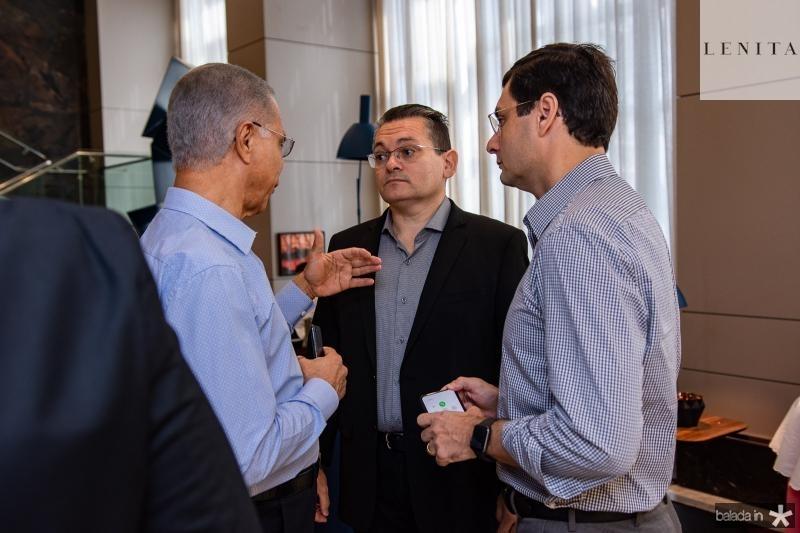 Sergio Melo, Claudio Goncalves, Luiz Miranda