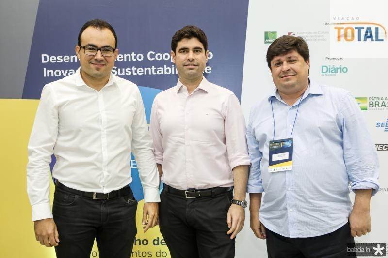 Carlos Mendes, Bruno Barreira e George Lima