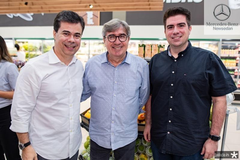 Duda Brigido, Miguel Figueiredo e Flavio Figueiredo