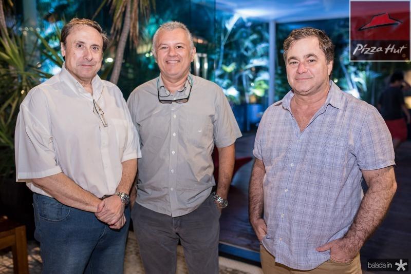 Rubens Witacer, Almiro Cunha e Jorge Wanderlei
