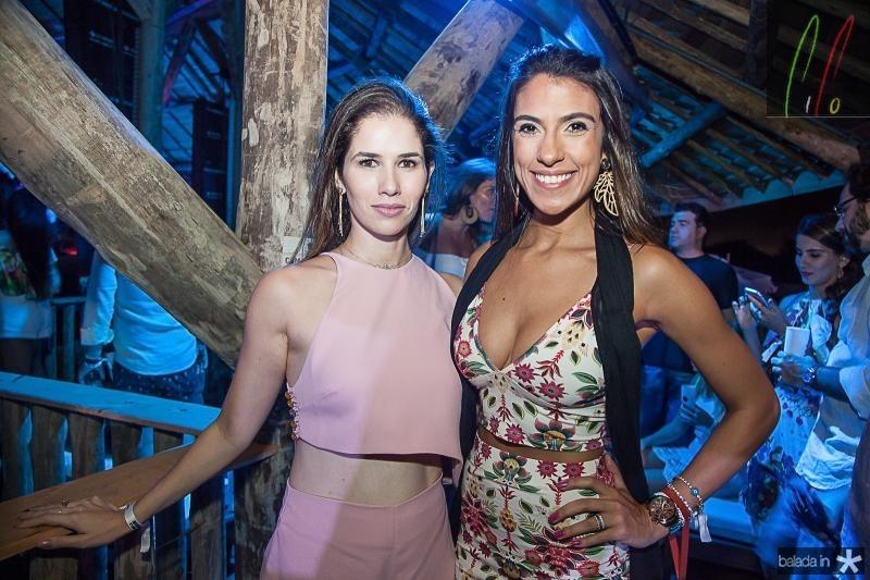Carolina Borges e Rafaela Lucena