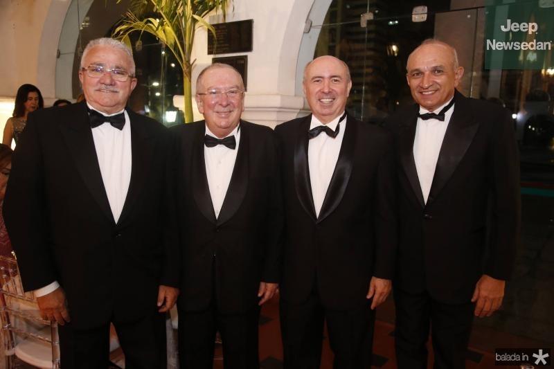 Alcimor Rocha, Valmir Pontes, Amarilio Cavalcante e Licinio Correa
