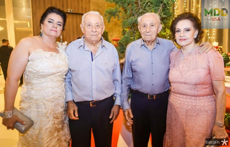 Silvana, Adauto, Humberto e Norma Bezerra