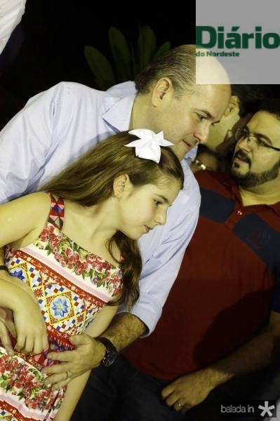 Roberto Claudio e Isabela Bezerra