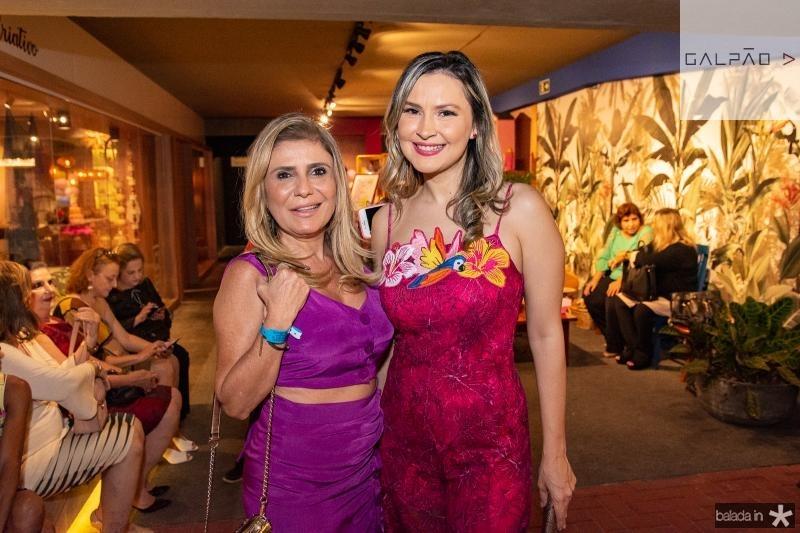 Adelia Albuquerque e Fabiana Steanck