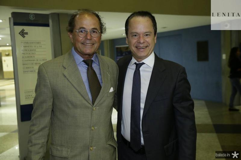Silvino Cabral e Lisandro Fujita