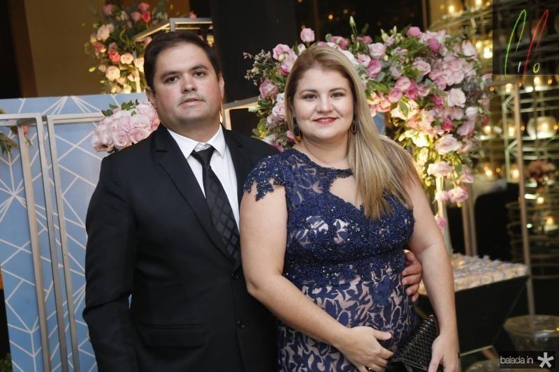 Sergio Girao e Ana Paula Vasconcelos
