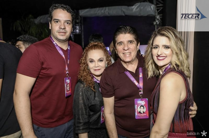 Thiago Holanda, Liseux Brasileiro, Dito Machado e Rebeca Leal