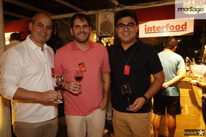 Andre Linheiro, Eduardo Castelao e Rolf Campos 1