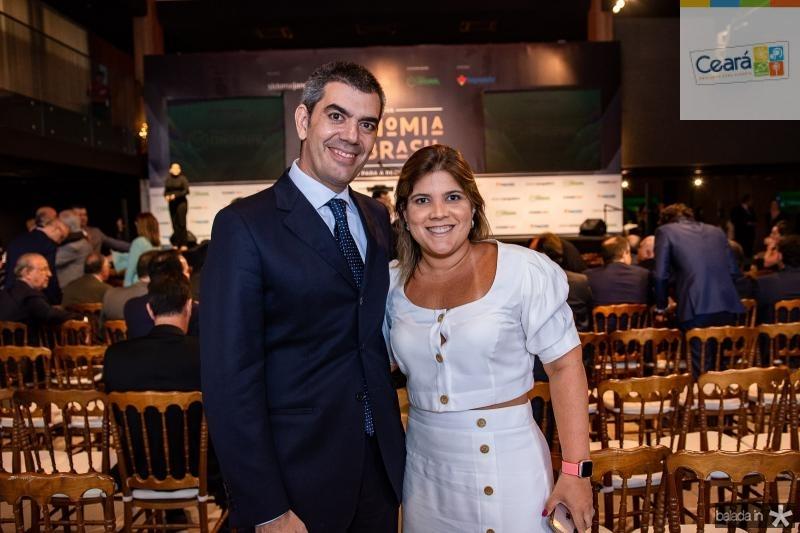 Raphael Chaves e Gisela Vieira