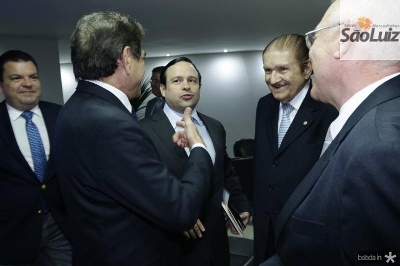 Zezinho Albuquerque, Igor Barroso e Mauro Benevides