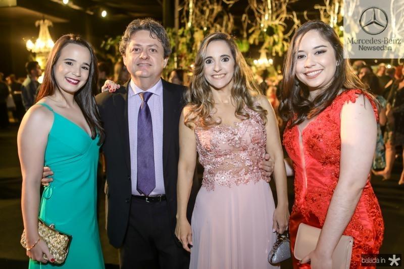 Karina Vasconcelos, Expedito Lins, Adriane Aguiar e Mariana Estrela