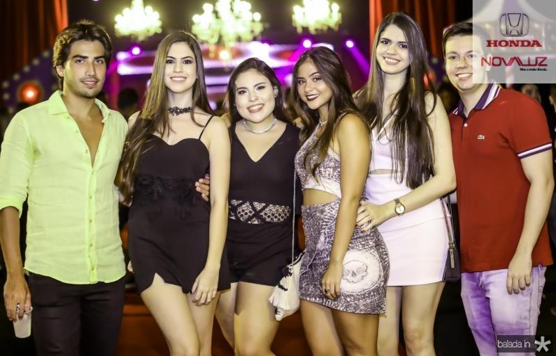 Vitor Veras, Gabriela Miranda, Viviane Sacramento, Larissa Skefin, Monica Miranda e Nicodemos Neto