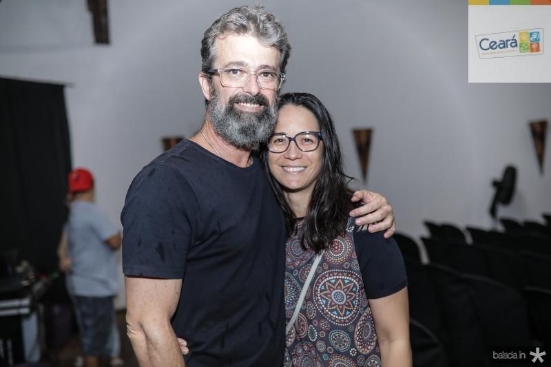 Marcelo Bartolomeu e Leine Satiko