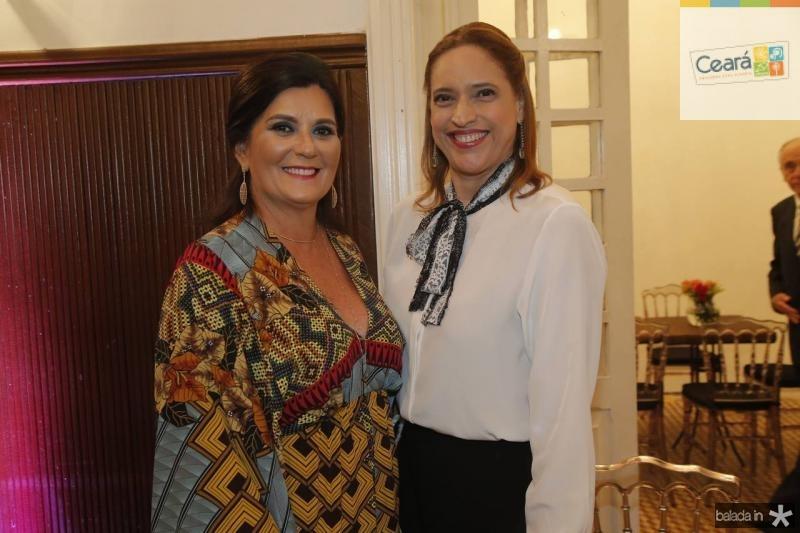 Marcia Aguiar e Ana Claudia Canamary