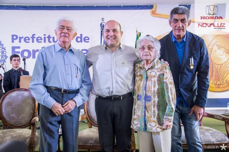 Jose Liberal de Castro, Roberto Claudio, Maria Adisia Barros de Sa e Raimundo Fagner