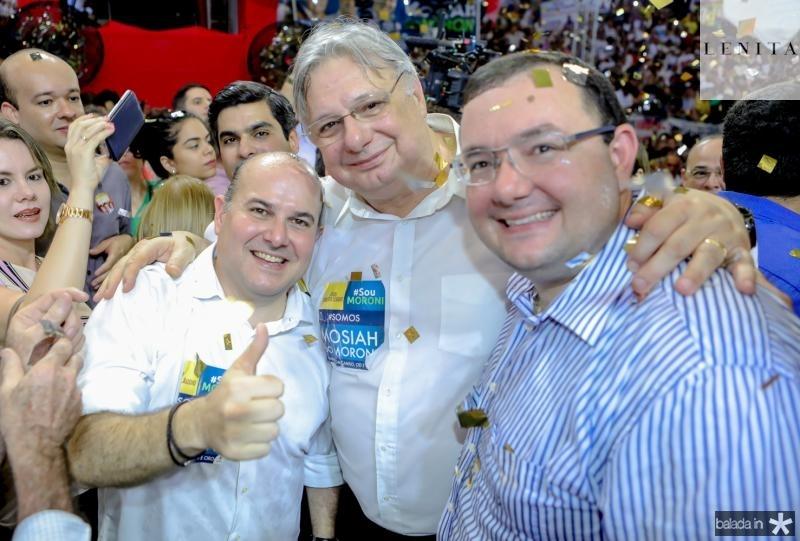 Roberto Claudio, Moroni e Mosiah Torgan