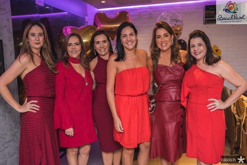 Gisele Siqueira, Ailza Ventura, Rose Carneiro, Ana Vladia Barreira e Luciana Lobo