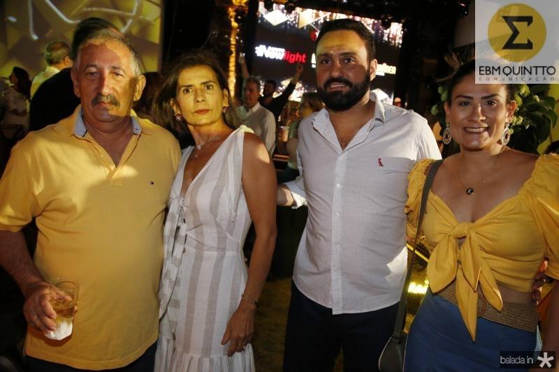 Expedito e Rosalia Albuquerque, Kleito Gomes e Alexandre Albuquerque