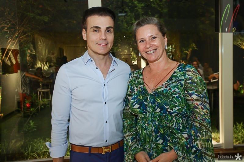 Rodrigo Maia e Bia Perlingeiro