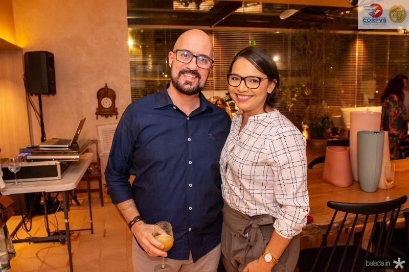 Daniel de Paula e Carol Crisostomo