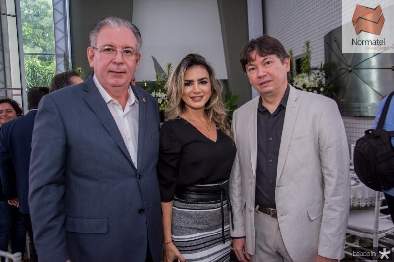 Ricardo Cavalcante, Jack Lima e Edgar Gadelha