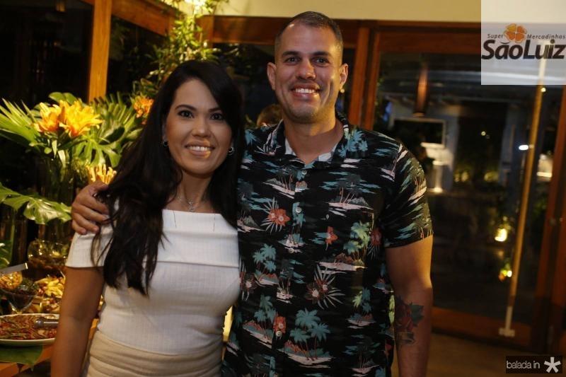 Alexia Moraes e Breuno Acioly