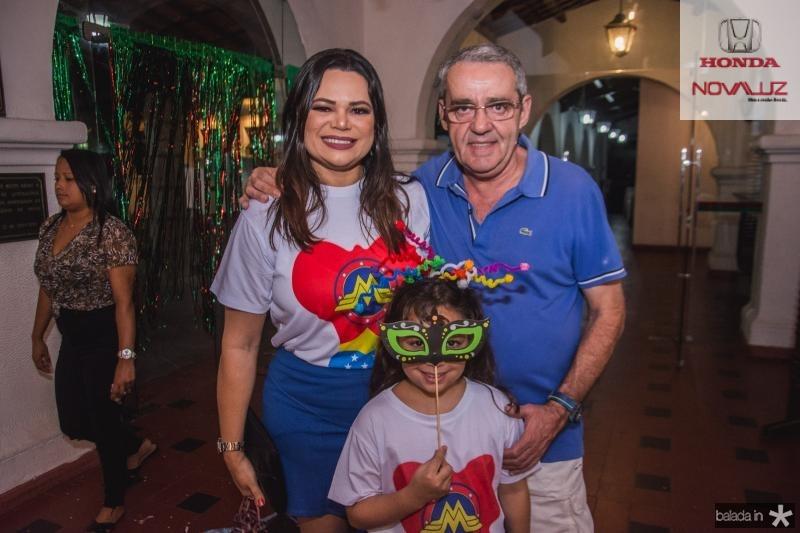 Andrea Barbosa, Joao Ferreira e Fernanda Ferreira