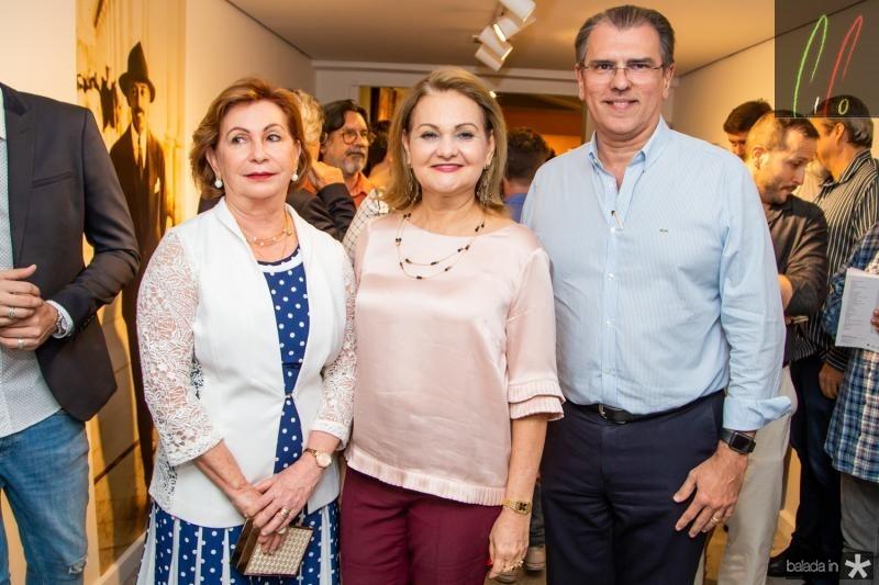 Fátima Veras, Lenize Rocha e Randal Pompeu