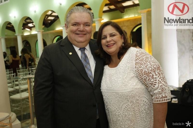 Pedro Jorge e Eveline Medeiros