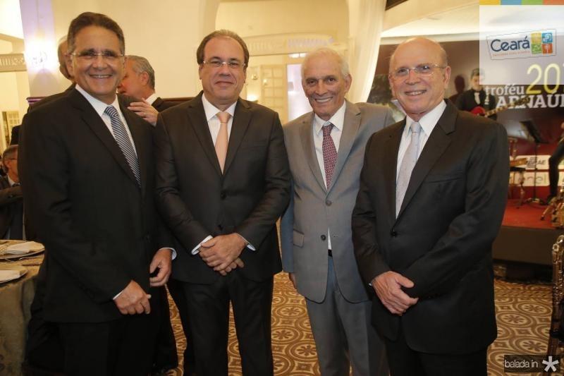 Paulo Ary, Claudio Brasil, Jaime Machado e Paulo Mota