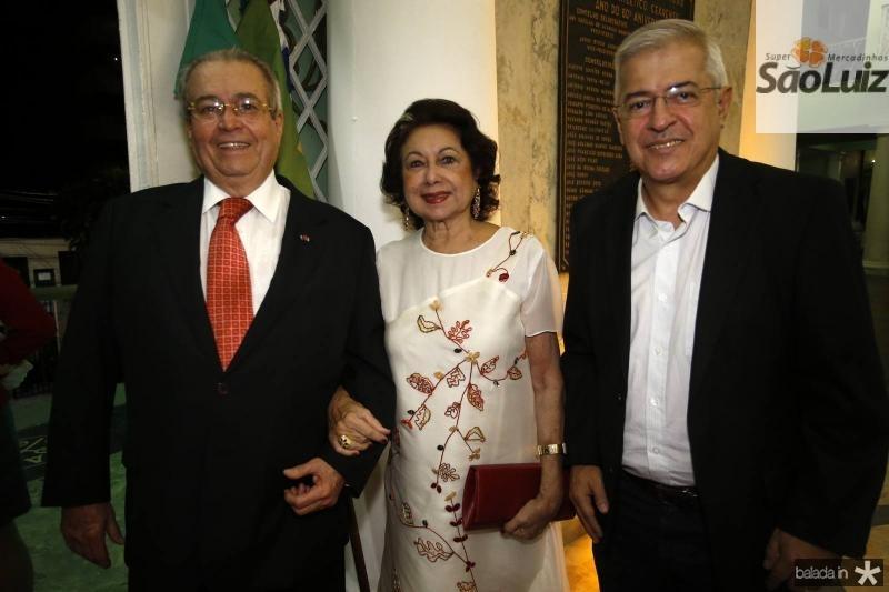 Meton Cesar e Yolanda Vasconcelos e PC Noroes