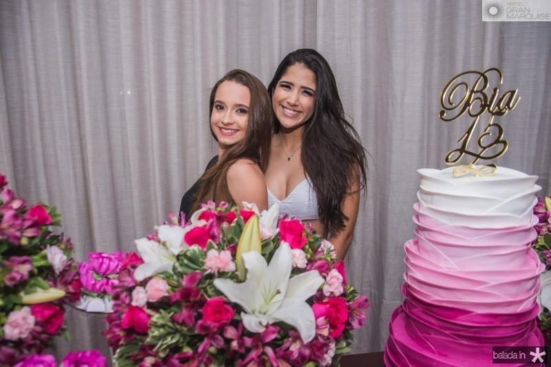 Lia Abreu e Bia Teixeira