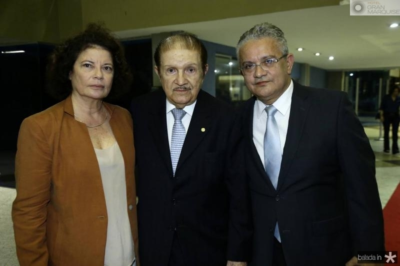 Valeria Serpa, Mauro Benevides e Luiz Sergio Santos