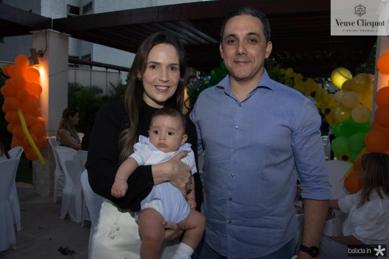 Paula Marques, Enzo e Fernando Brigido