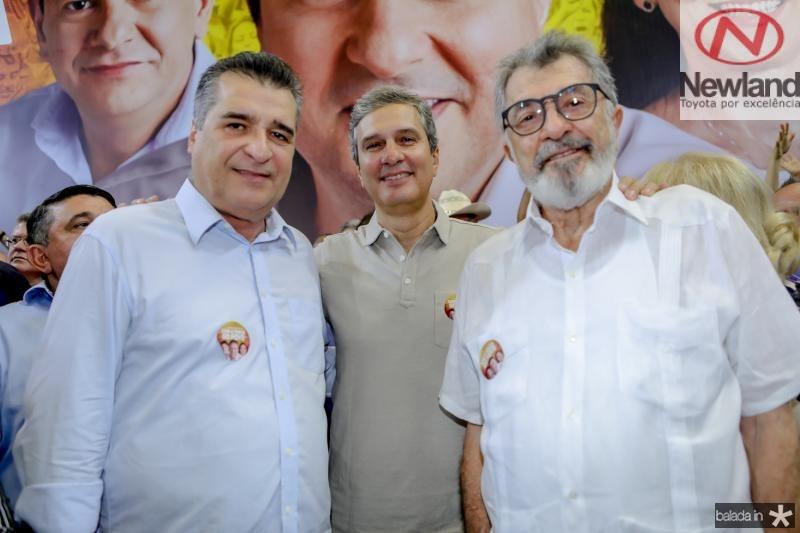 Joao Jaime, Thiago e Eudoro Santana