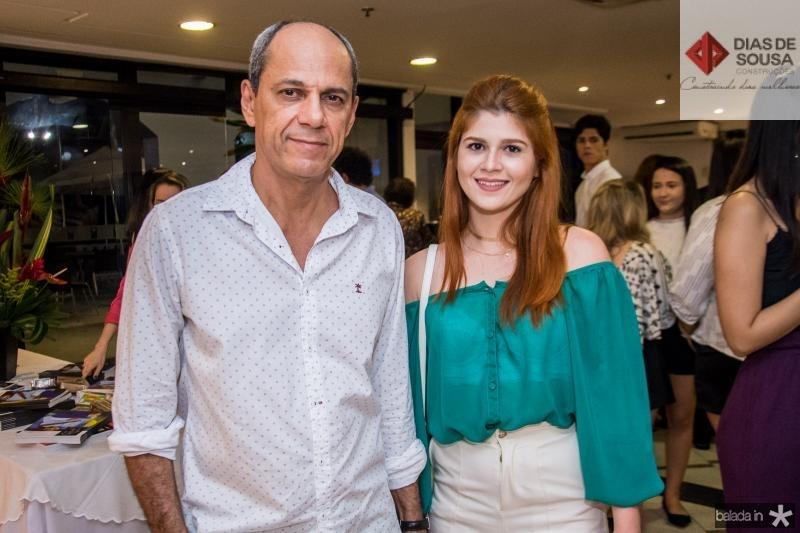 Mano Alencar e Kamila Kesia