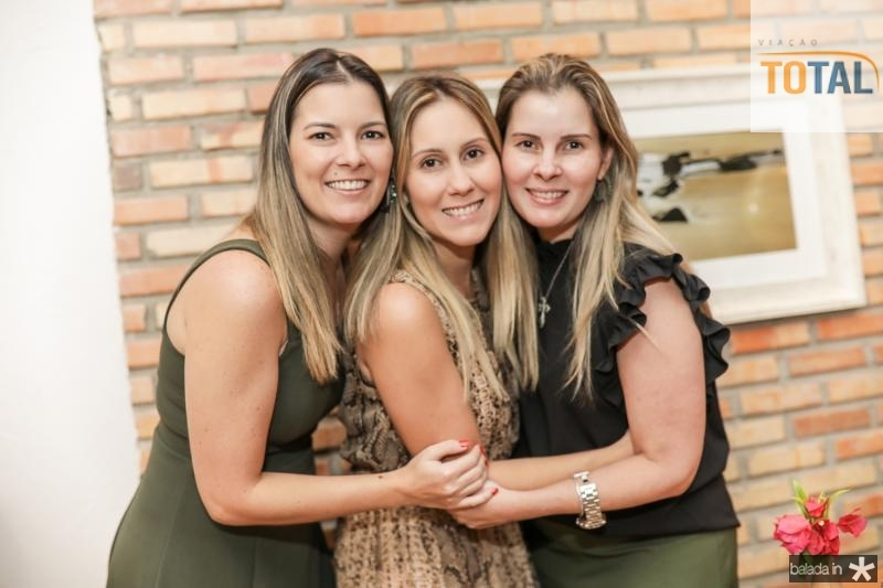 Lurdinha Brasil, Paula Rolim e Adriana Loureiro