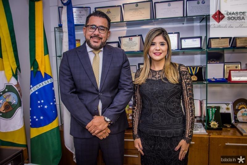 Marcio Martins e Roberta Vasques