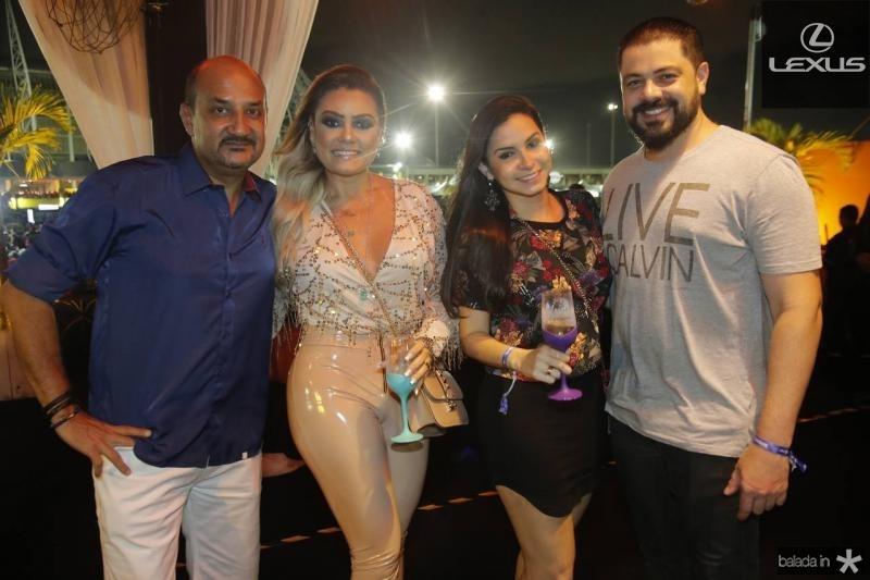Rondon Silva, Alti Cavalcante, Ticiana Rolim e Rodrigio Moraes