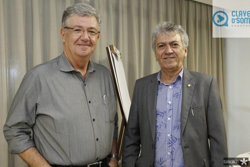 Carlos Maia e Clovis Nogueira