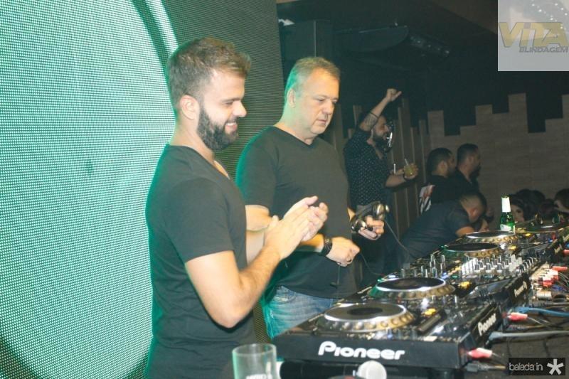 DJs Andre Guerreiro e Rodrigo Vieira