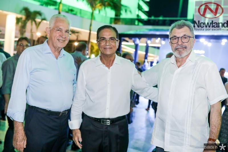 Carlos Prado, Beto Studart e Eudoro Santana