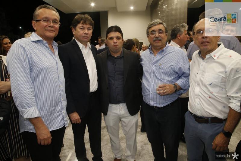 Eulalio Costa, Edgar Gadelha, Marcelo Tavares, Roberto Sergio e Andre Montenegro
