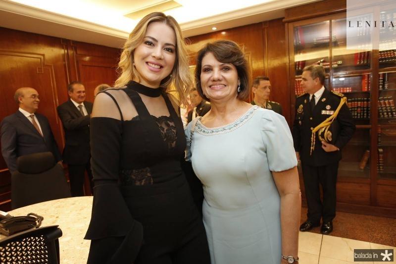 Onelia Santana e Neide Pontes