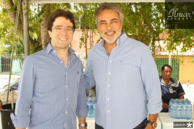 Lucas Pontes e Paulo Angelin