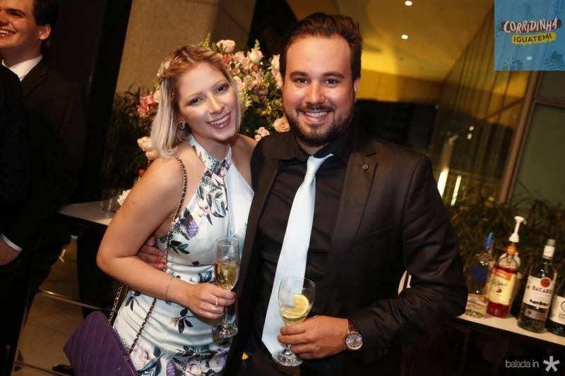 Karla Aguiar e Luiz Victor Vidal