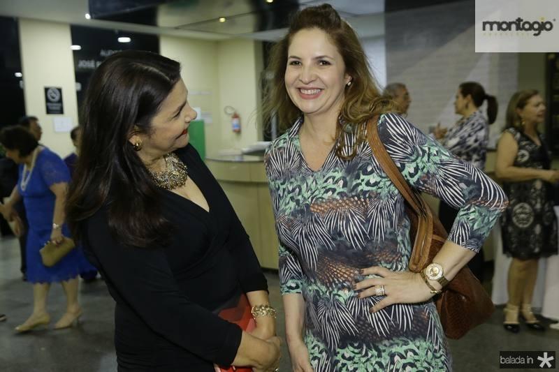 Celina Castro Alves e Enid Camara