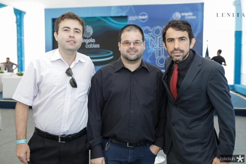 Alisson Barbosa, Wagner Awalan e Wamberg Oliveira